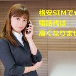 結局高くなる?au系の格安SIMにはかけ放題はないけど通話料はどうなる?