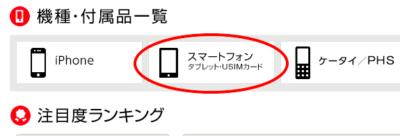 ワイモバイルSIM