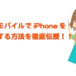 Ymobile(ワイモバイル)はiPhoneが使える!SE,5s,7Plus,7,6sPlus,6s,6や他社iPhoneでの詳細!